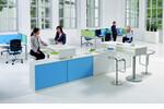 Das flexible Programm communication - bereichsorientiertes Arbeiten,  temporäres Arbeiten, schneller Ideenaustausch.