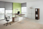 Canvaro ist ein kostengünstiger Einstieg in das ergonomische Arbeiten mit Steh-Sitz-Arbeitsplätzen.