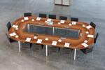 In einer heute immer moderner werdenden Arbeitswelt, vernetzen wir technisches Kommunikationsequipment und  Einrichtung  zu einem Ganzen - Konferenztechnik von Palmberg