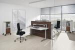 Canvaro steht für wirksame Prävention: Entlastung der Muskulatur und der Wirbelsäule durch flexible Steh-Sitz-Arbeitsplätze.
