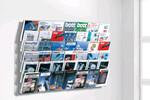 Wandmagazin - bestehend aus einzelnen Wandelementen, die in beliebiger Anzahl aneinander gereiht werden können.