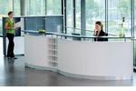 Flexible Empfangslösung von fm - WELCOME ist in vielen Front-Optiken und Aufsatzelementen planbar.