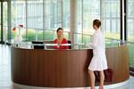 Als Empfang im Eingangsbereich oder als Verkaufstresen, WELCOME ist vielseitig einsetzbar.