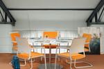 Mera Besucherstühle mit Kunststoff-, Netz- oder Polsterrücken zeichnen sich durch ihr komfortables Volumen aus.