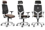 Dieser Stuhl trägt auch dem persönlichem Geschmack Rechnung: er ist mit Netz- als auch Polsterrücken erhältlich. Modell Giroflex 68